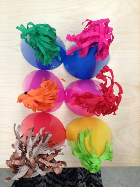 Embellished Party Hats Handcraft Studio School