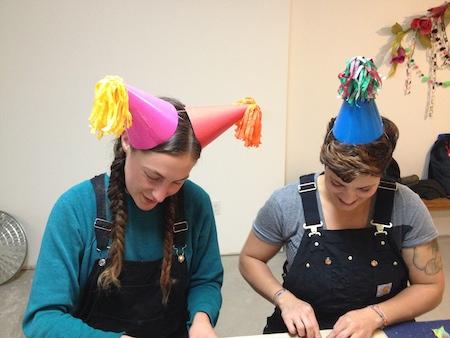 Party in a Box Participants Handcraft Studio School