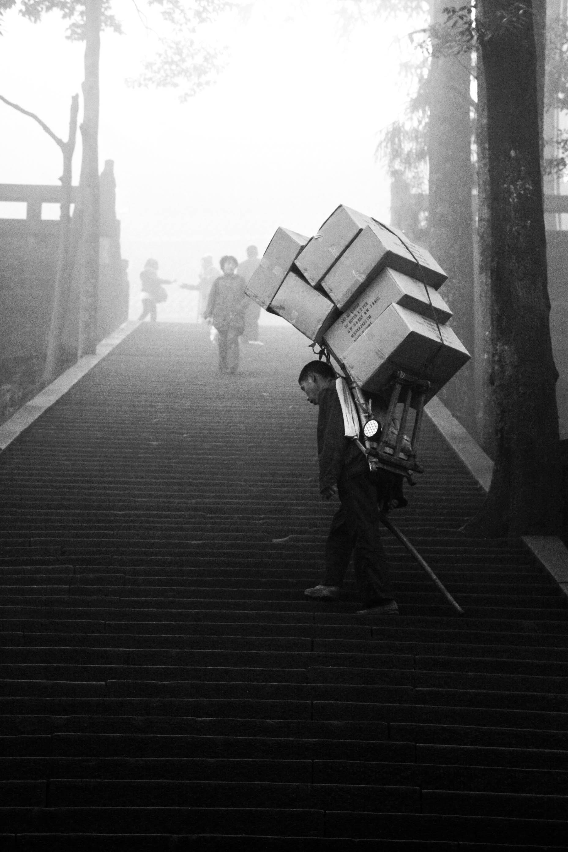 Mt.Emei, China.