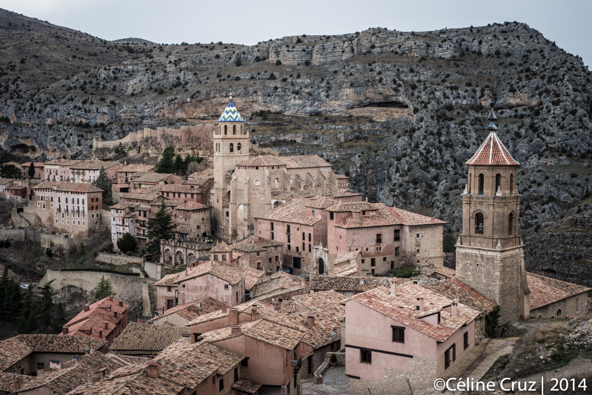 Albarracin from above