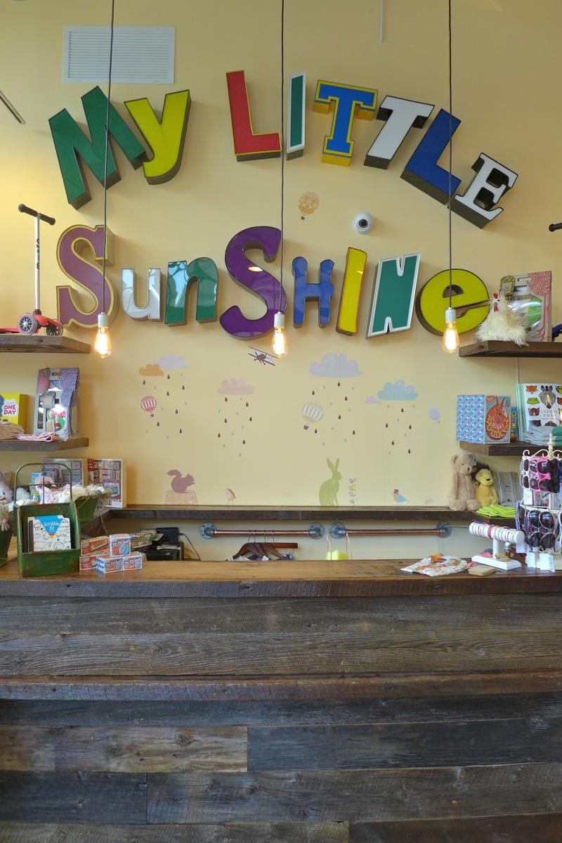 My Little Sunshine :-)))  Chelsea - 177 Ninth Avenue 10011 New York Phone: 212-929-0887  Hours: Mon-Sat: 10.00 AM-7.00 PM/Sun: 11.00 AM-5.00 PM