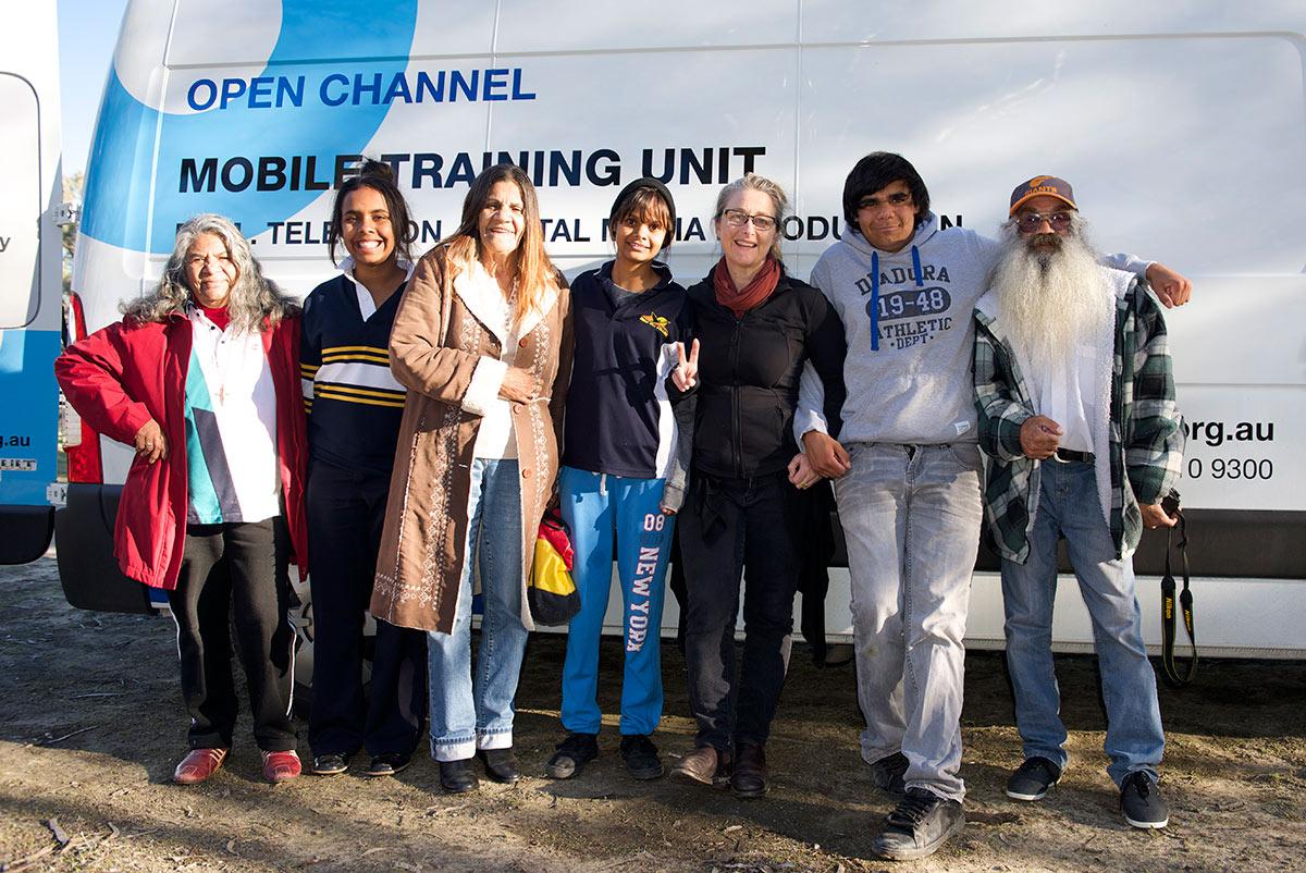 Yarnin Team in Balranald NSW 2013