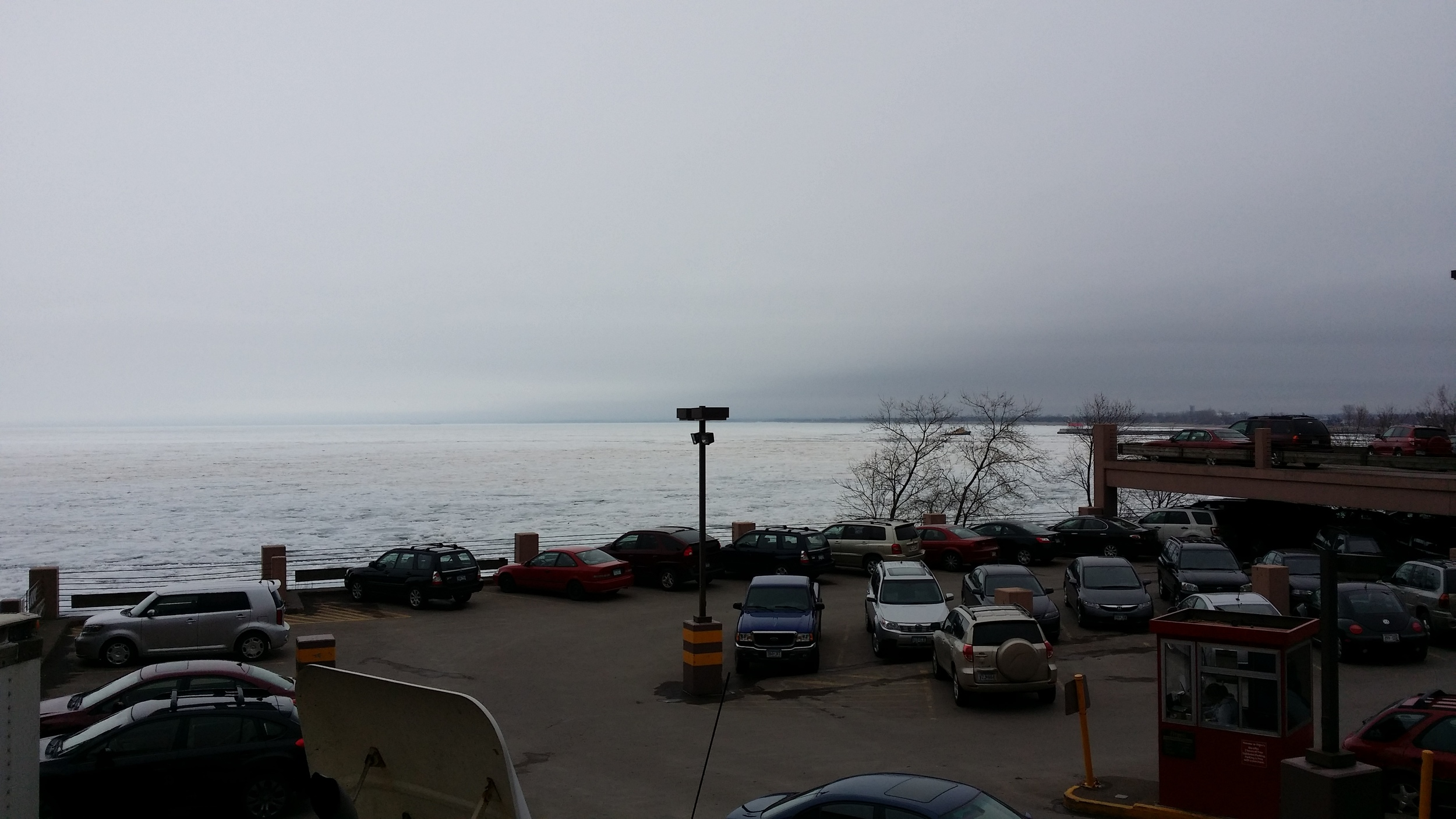 Duluth harbor, looking southeast