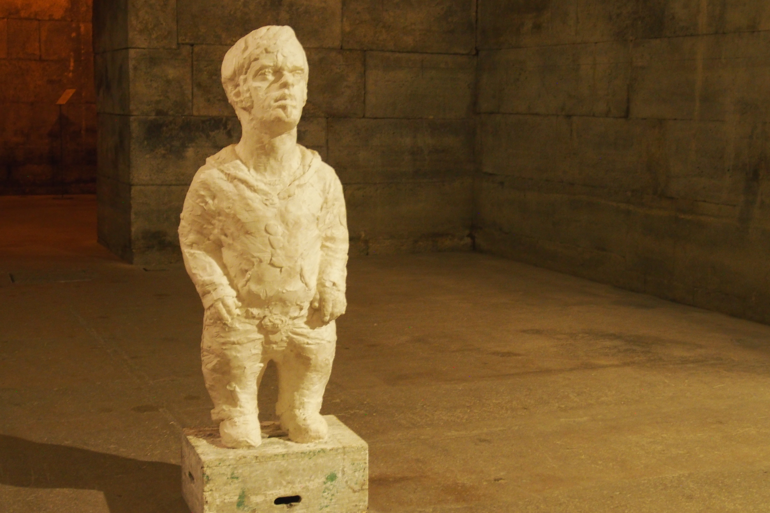 Game of Thrones was filmed in many Croatian sites. We thought we recognized this modern sculpture