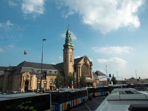 Luxembourg City Train Station