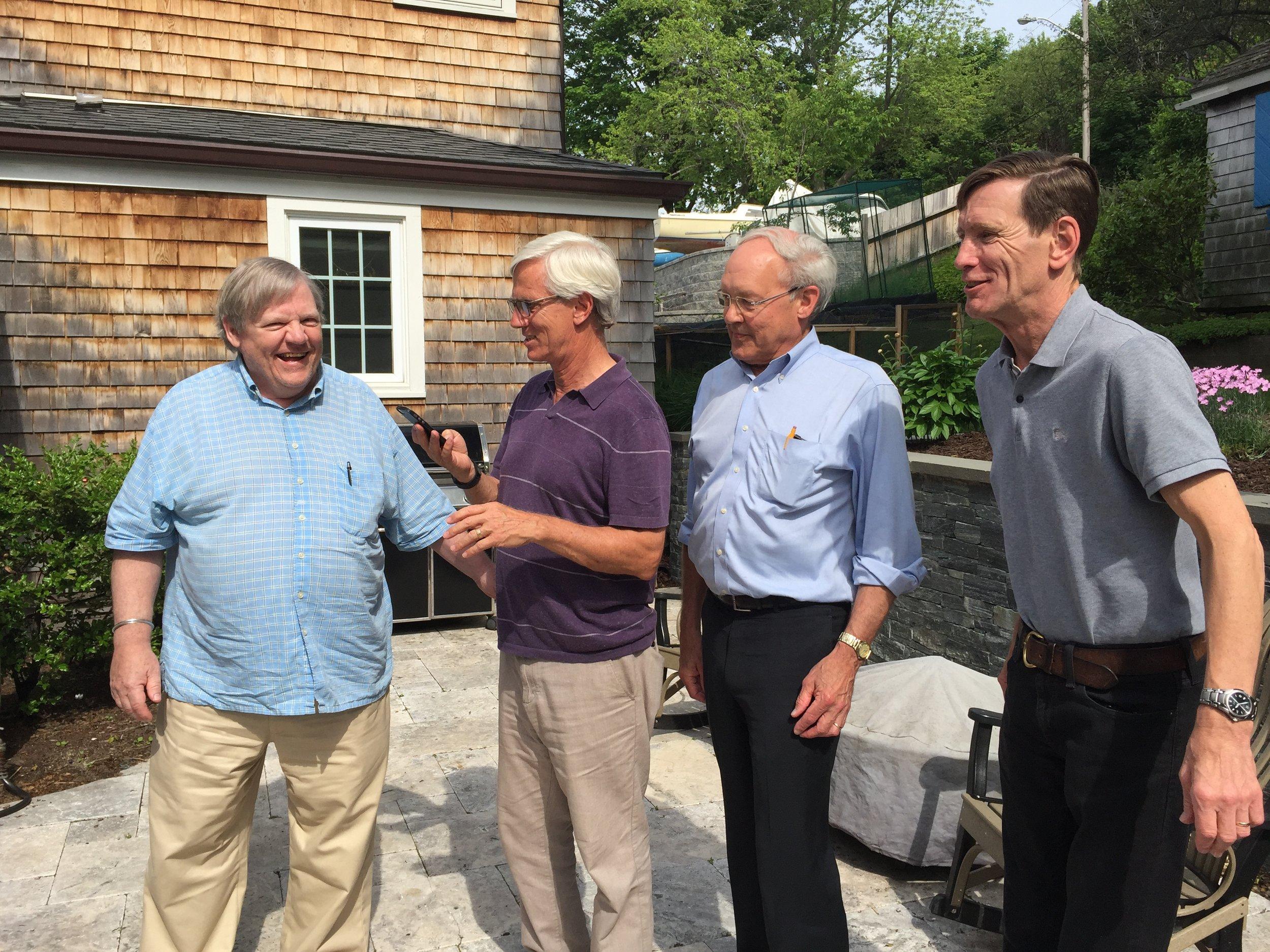 Jim, Mike, Hugh and John
