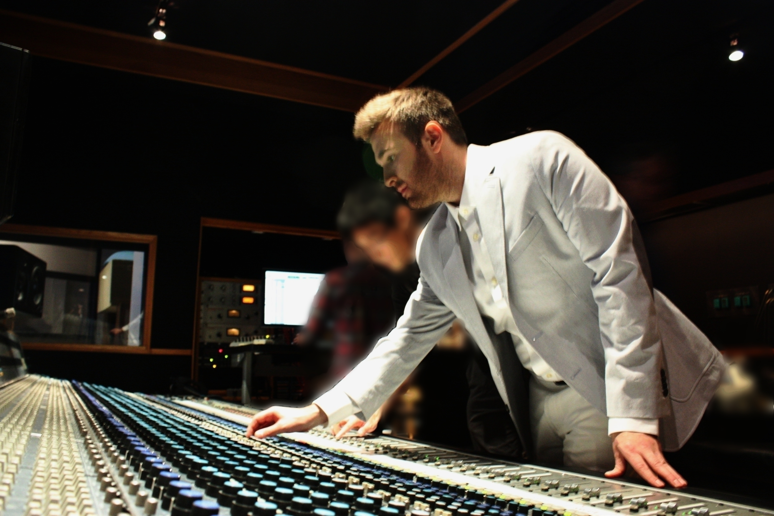 DANIEL BLANCK MIXING AT EASTWEST STUDIO 1