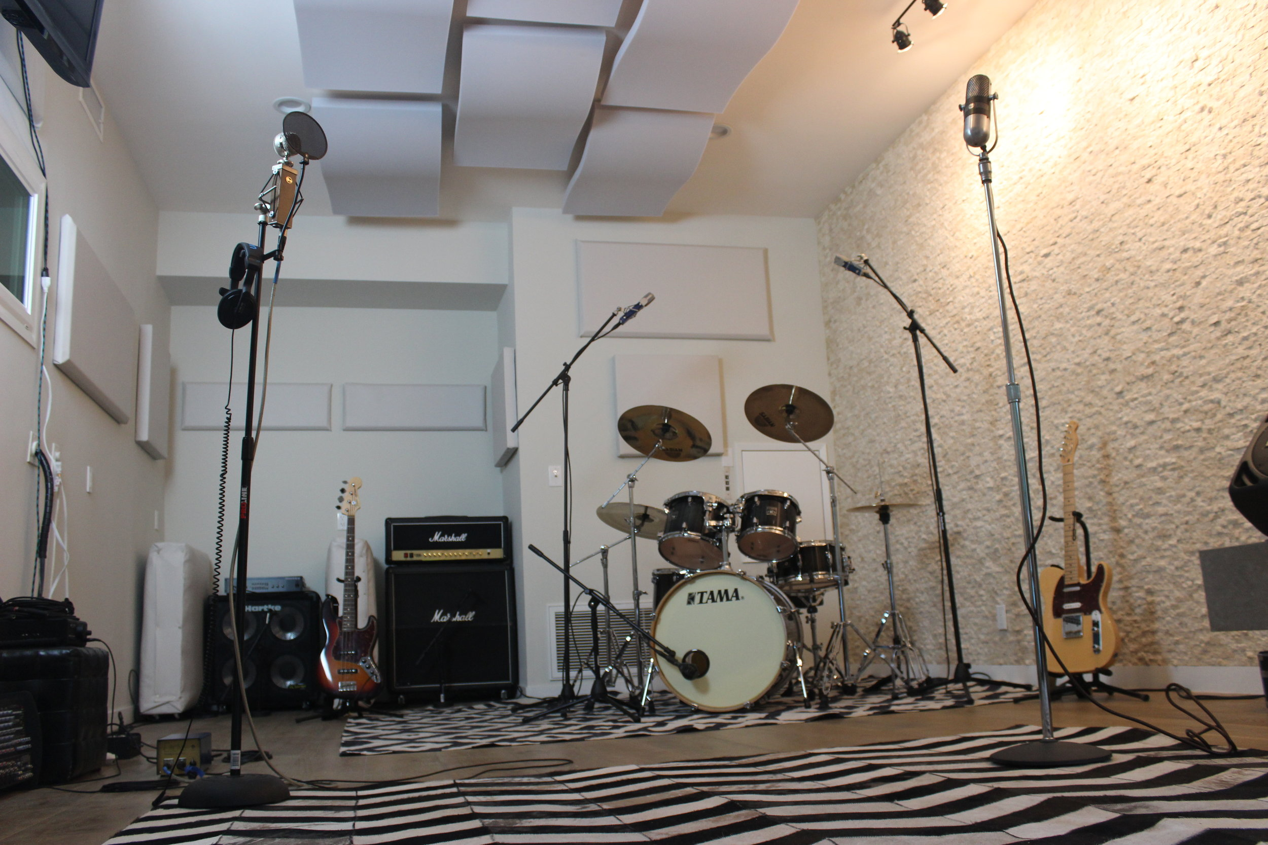 Blanck Records Live Room Instruments 2.JPG