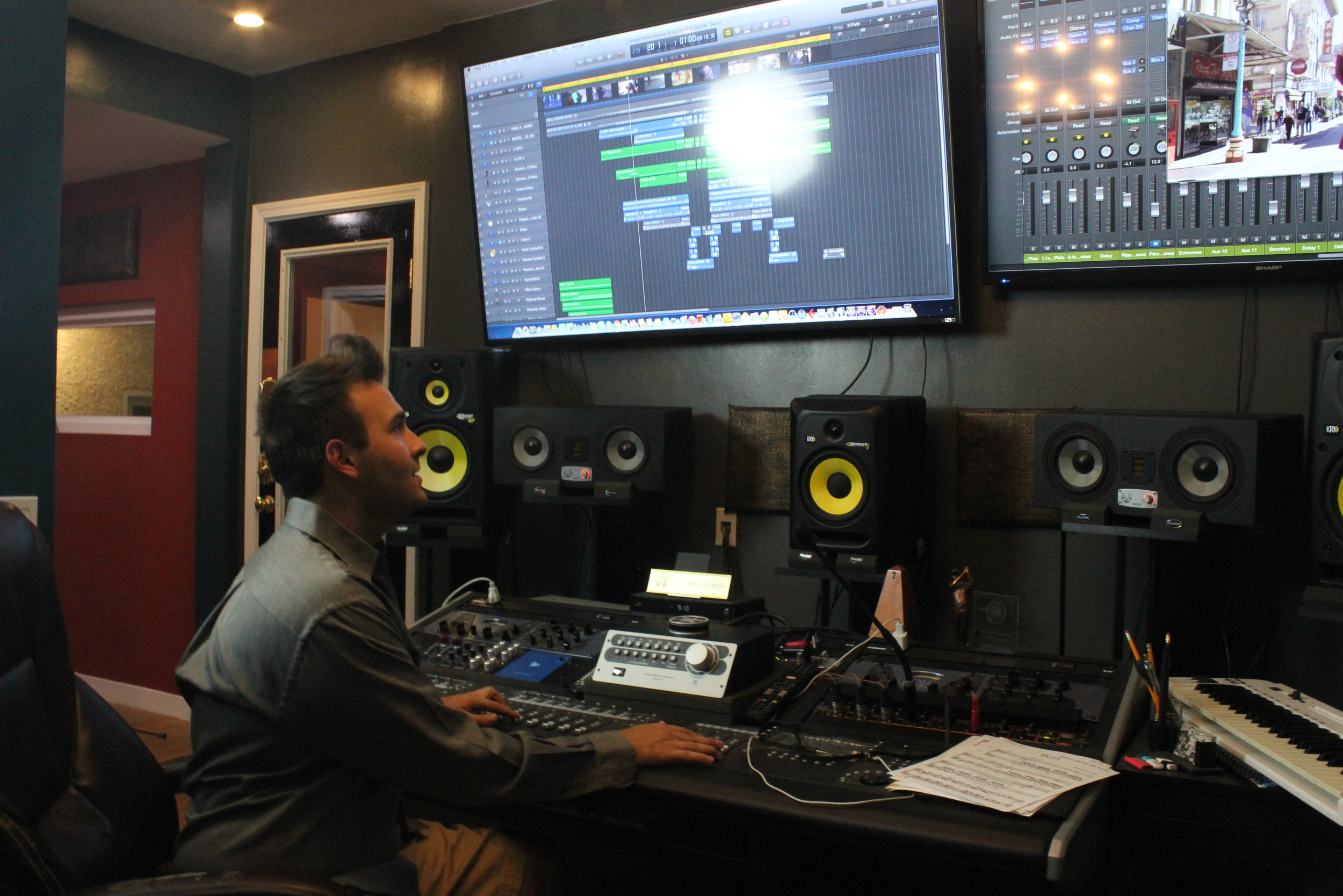 Blanck Records Dan Blanck Control Room.JPG
