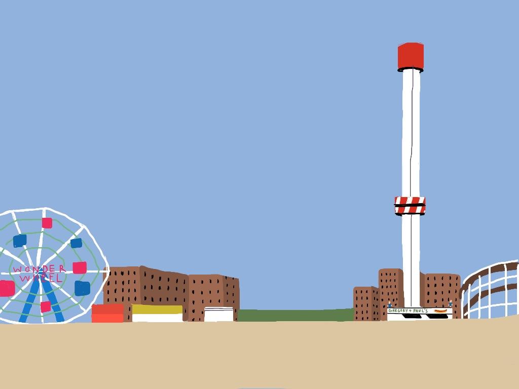 Coney Island - digital