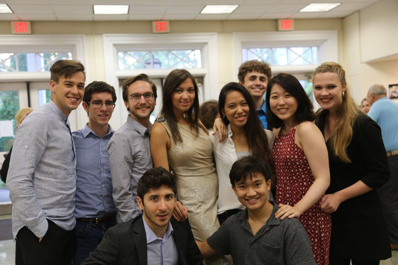 Group picture of session 2 of Pianofest in the Hamptons 2016