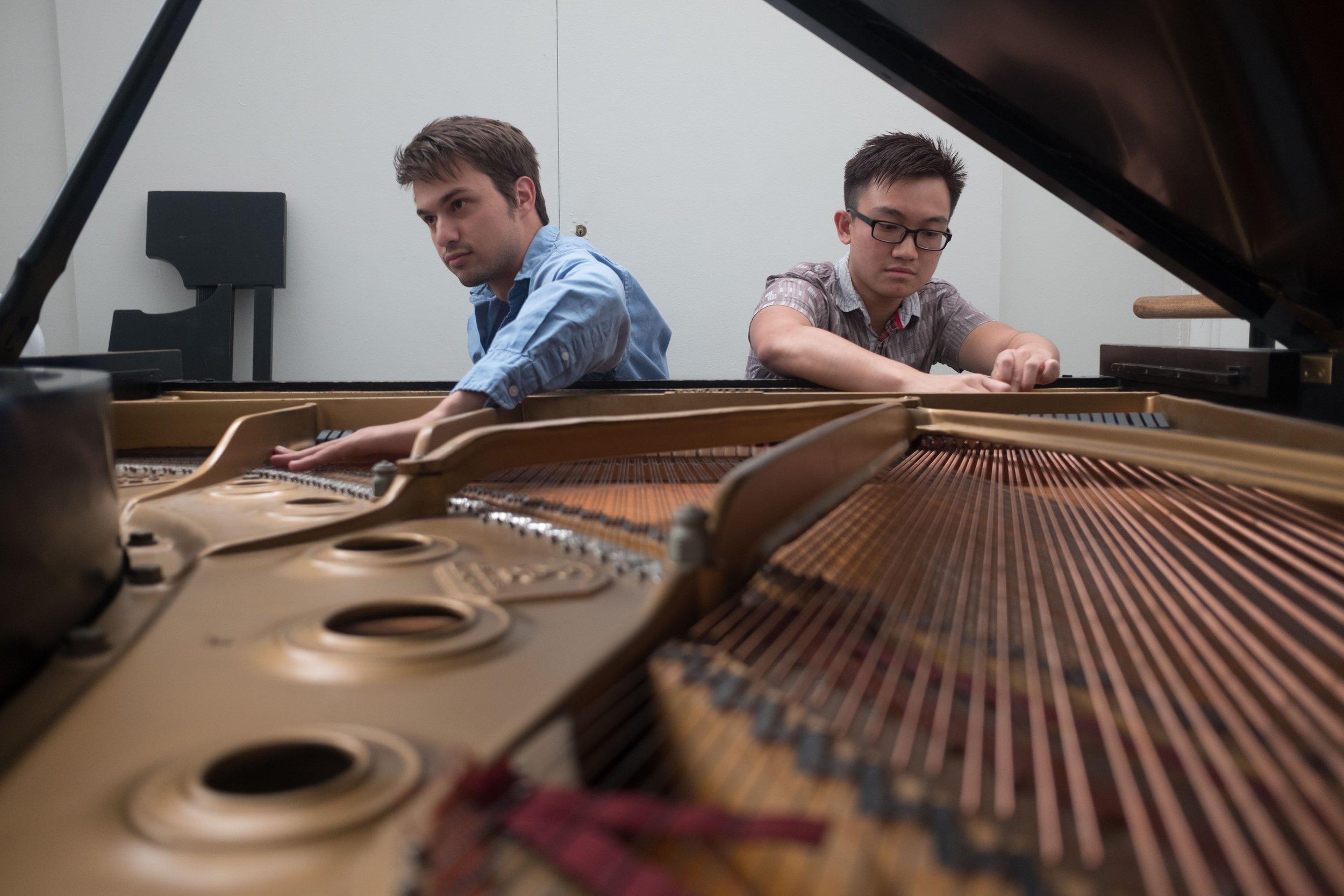 w/ Chris Staknys 2017 Improvisation jam at the Juilliard School