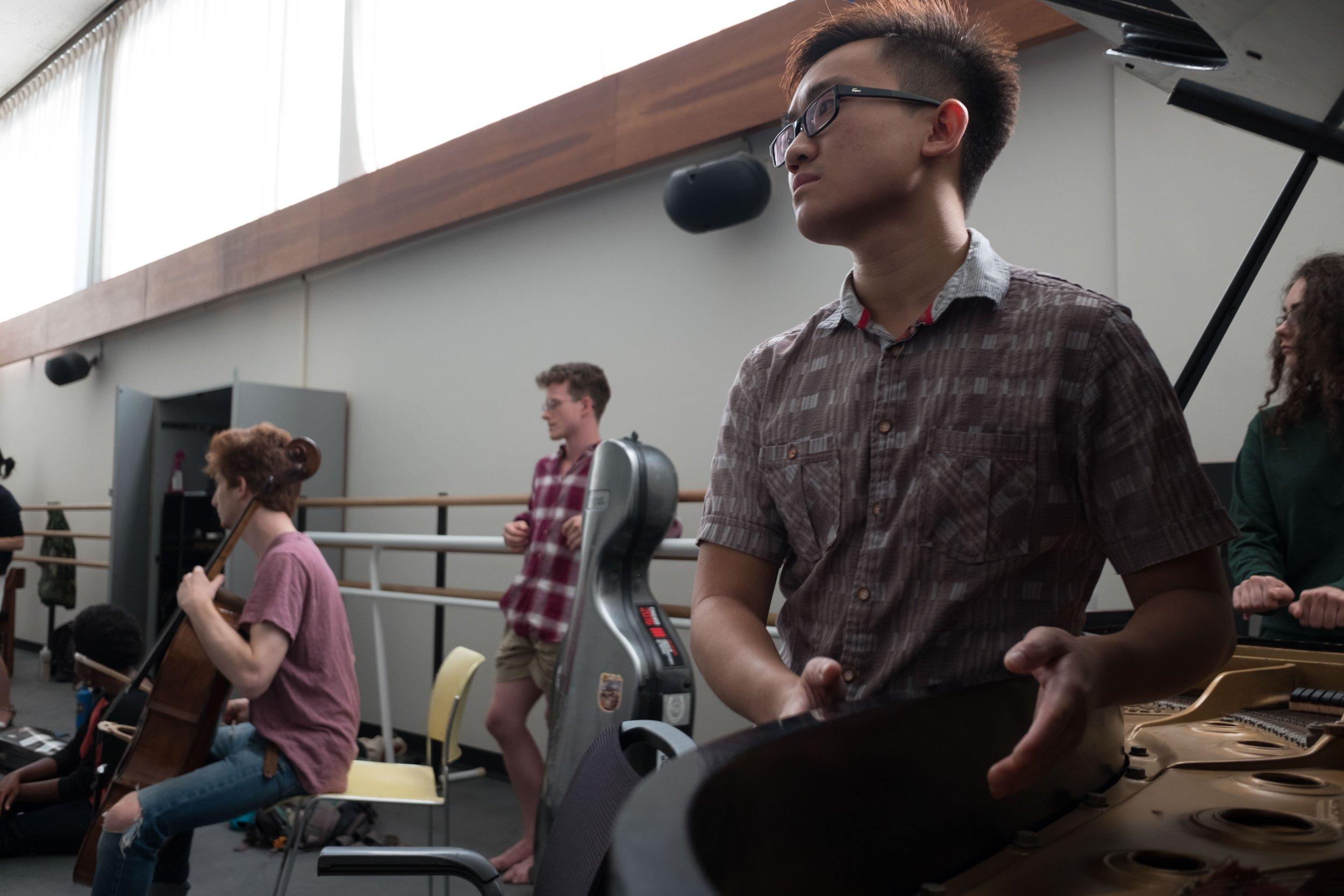 2017 Improvisation jam at the Juilliard School