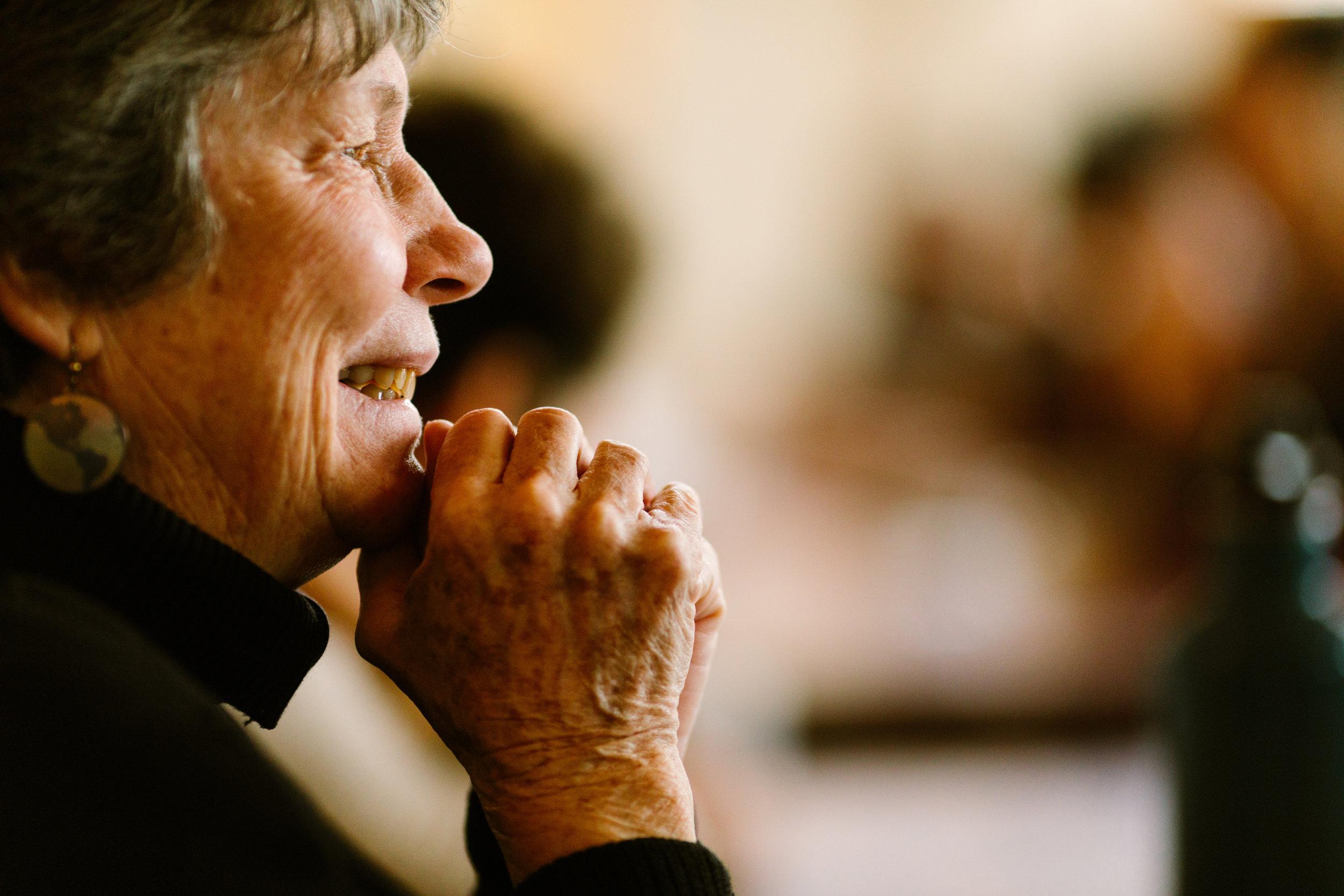 Sr. Judy Carle, Sister of Mercy. Photo by Rhino Media.