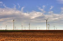 Smoky Hill Wind Farm near Salina, Kansas