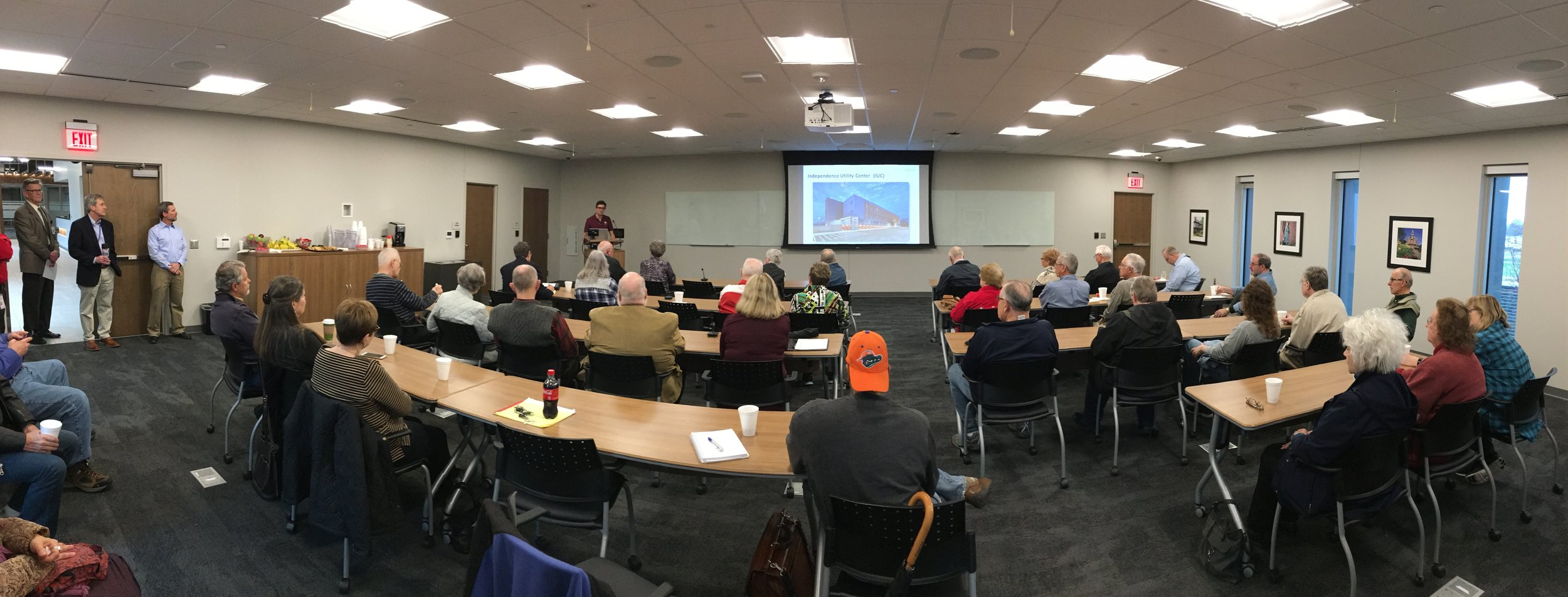 March 25 forum held at the new city of Independence utility center