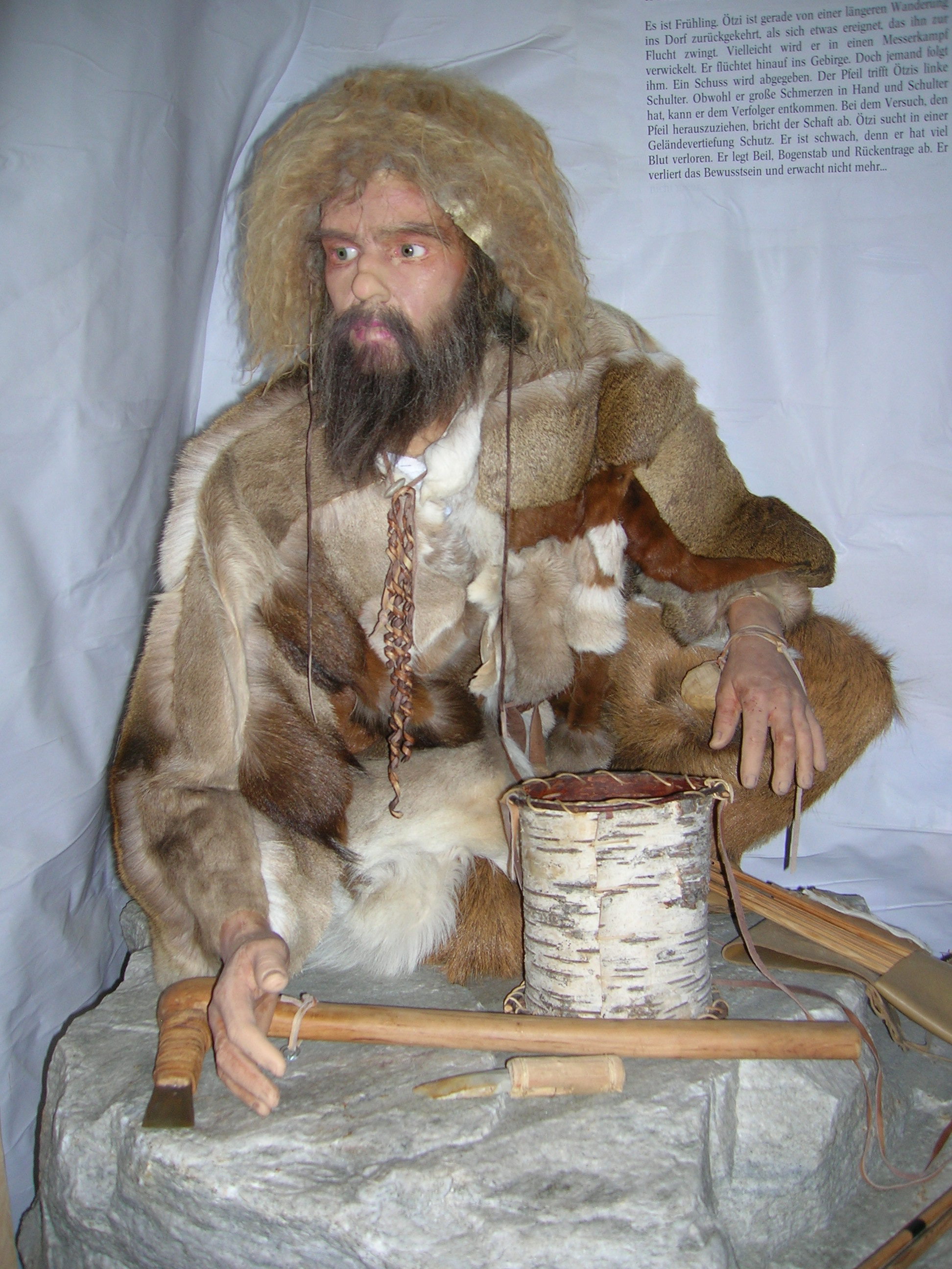 Ötzi - the ice man.