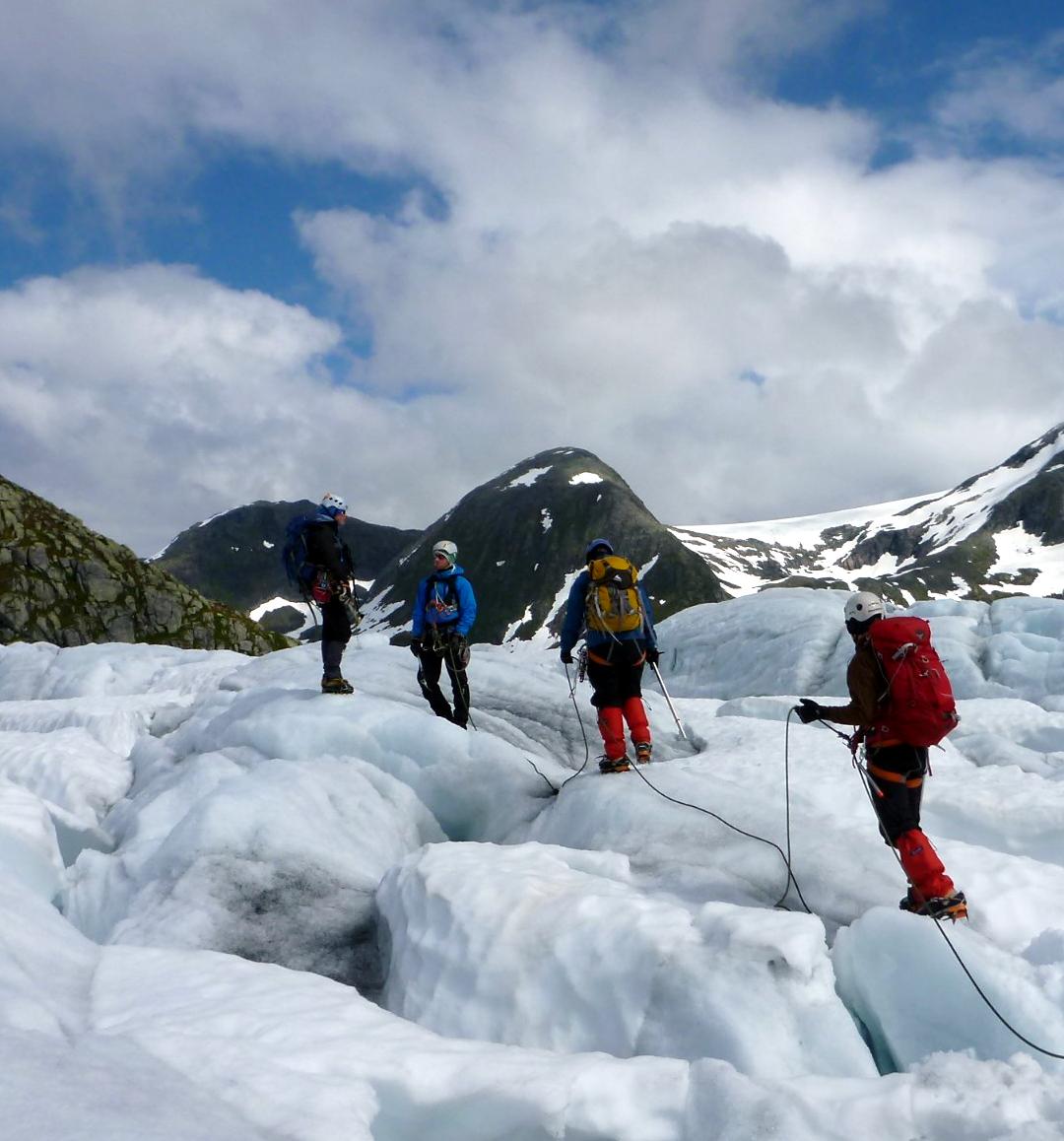 Glacier walks Jostedalsbreen