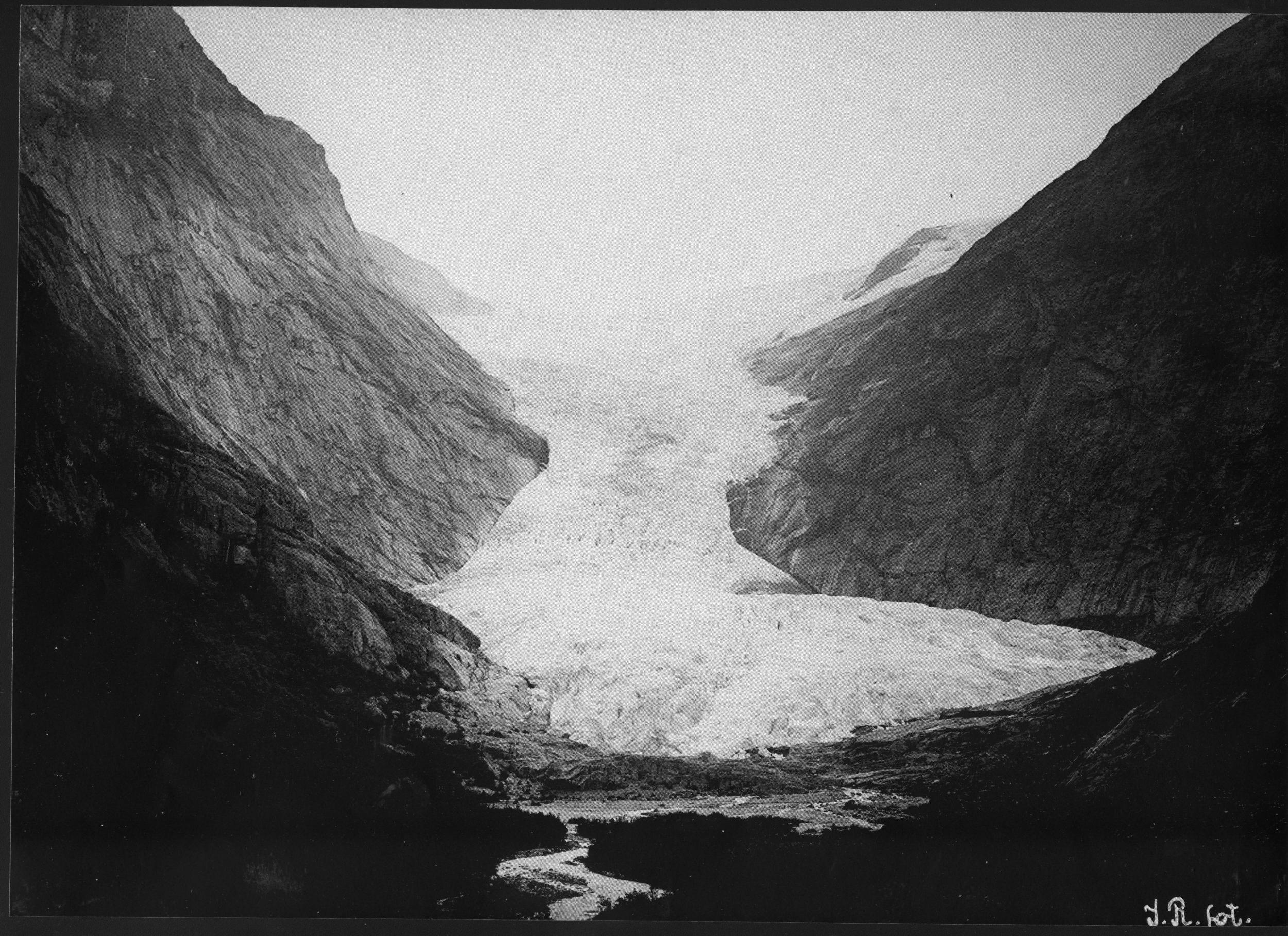 Briksdalsbreen Glacier 1900