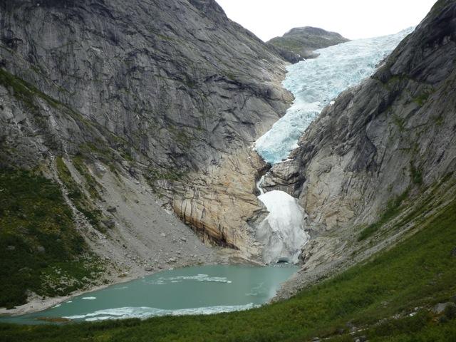 Briksdalsbreen Glacier 2013