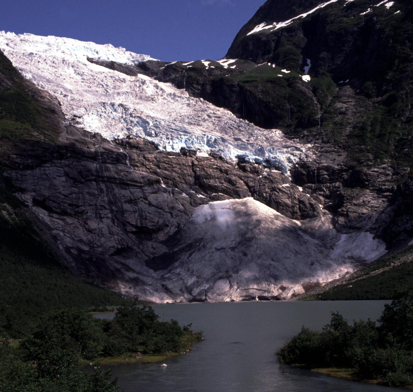 Bøyabreen Glacier 1989