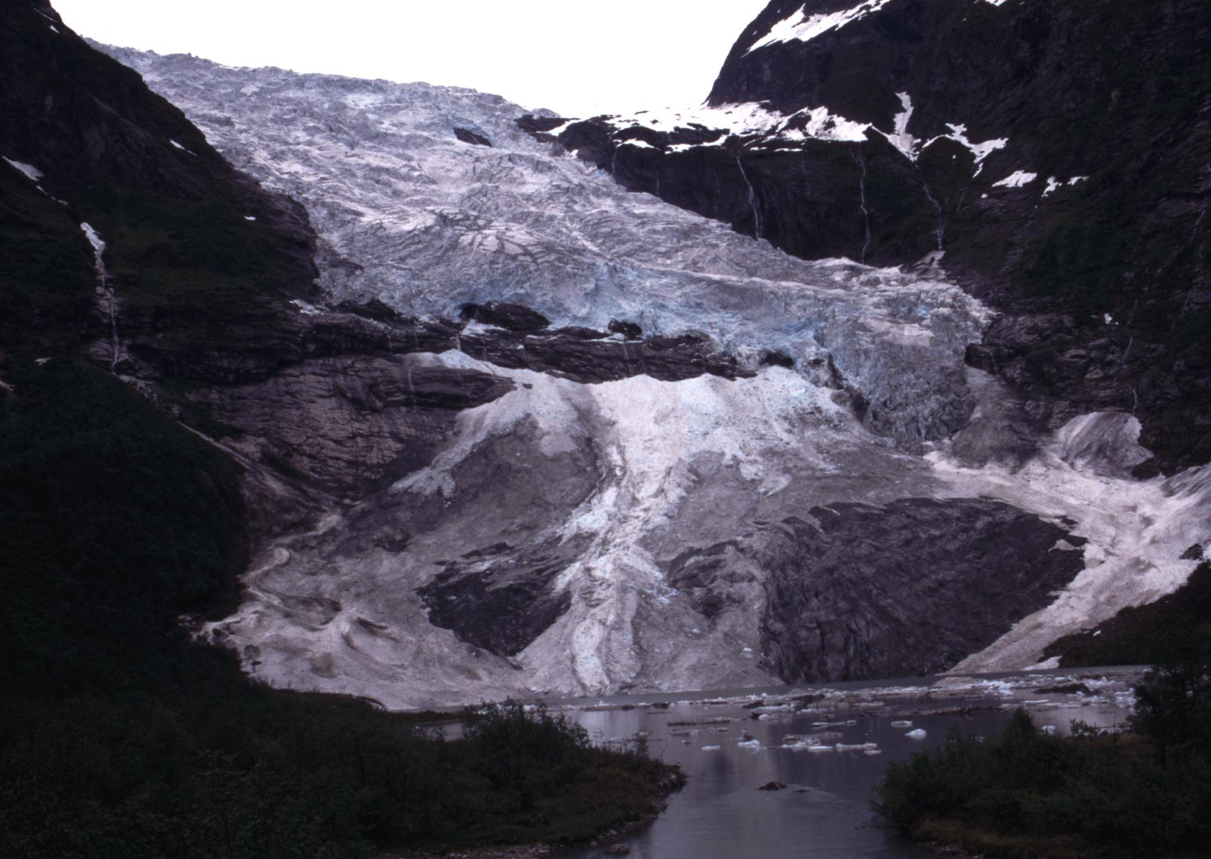 Bøyabreen Glacier 1997