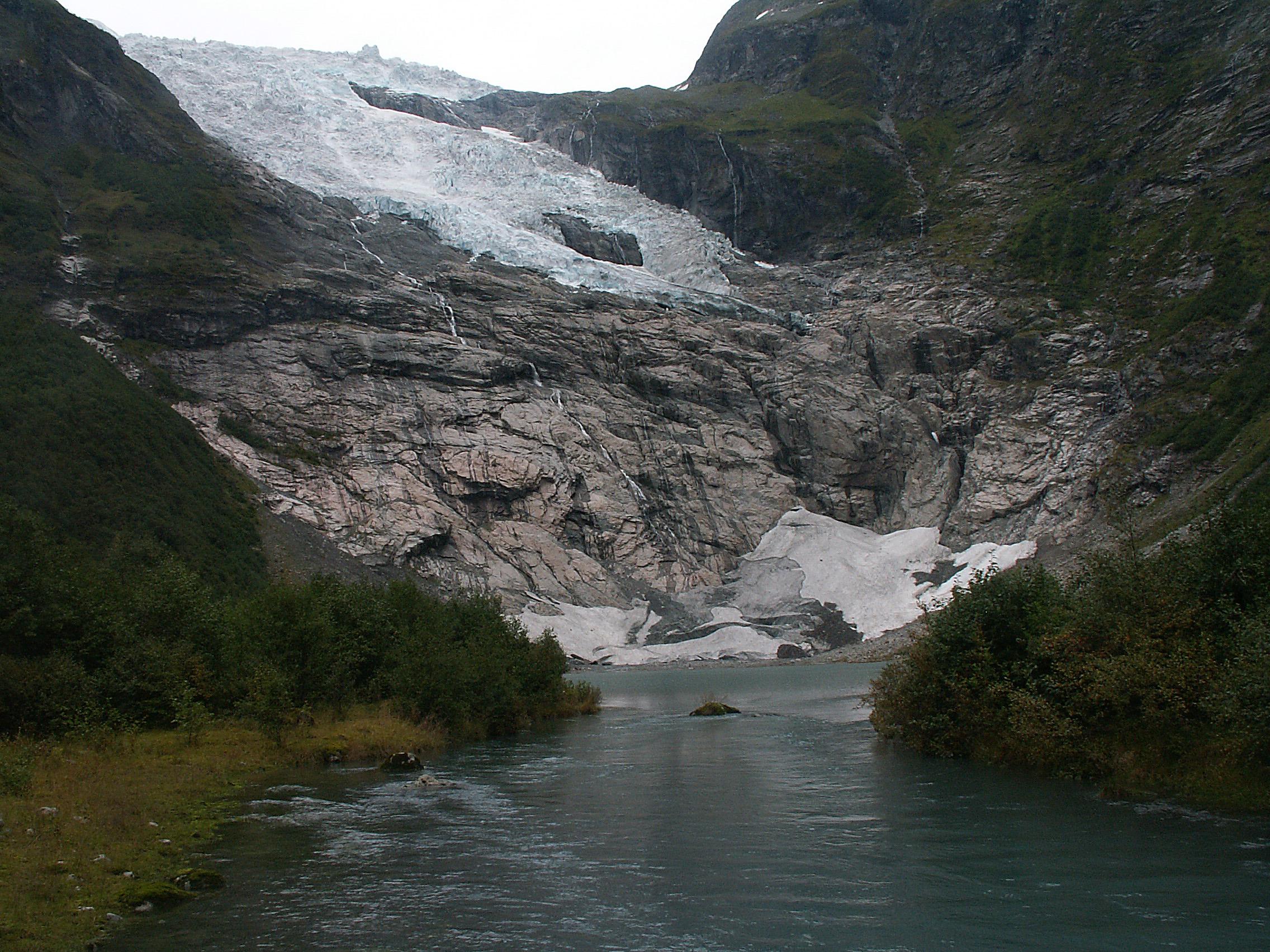 Bøyabreen Glacier 2008
