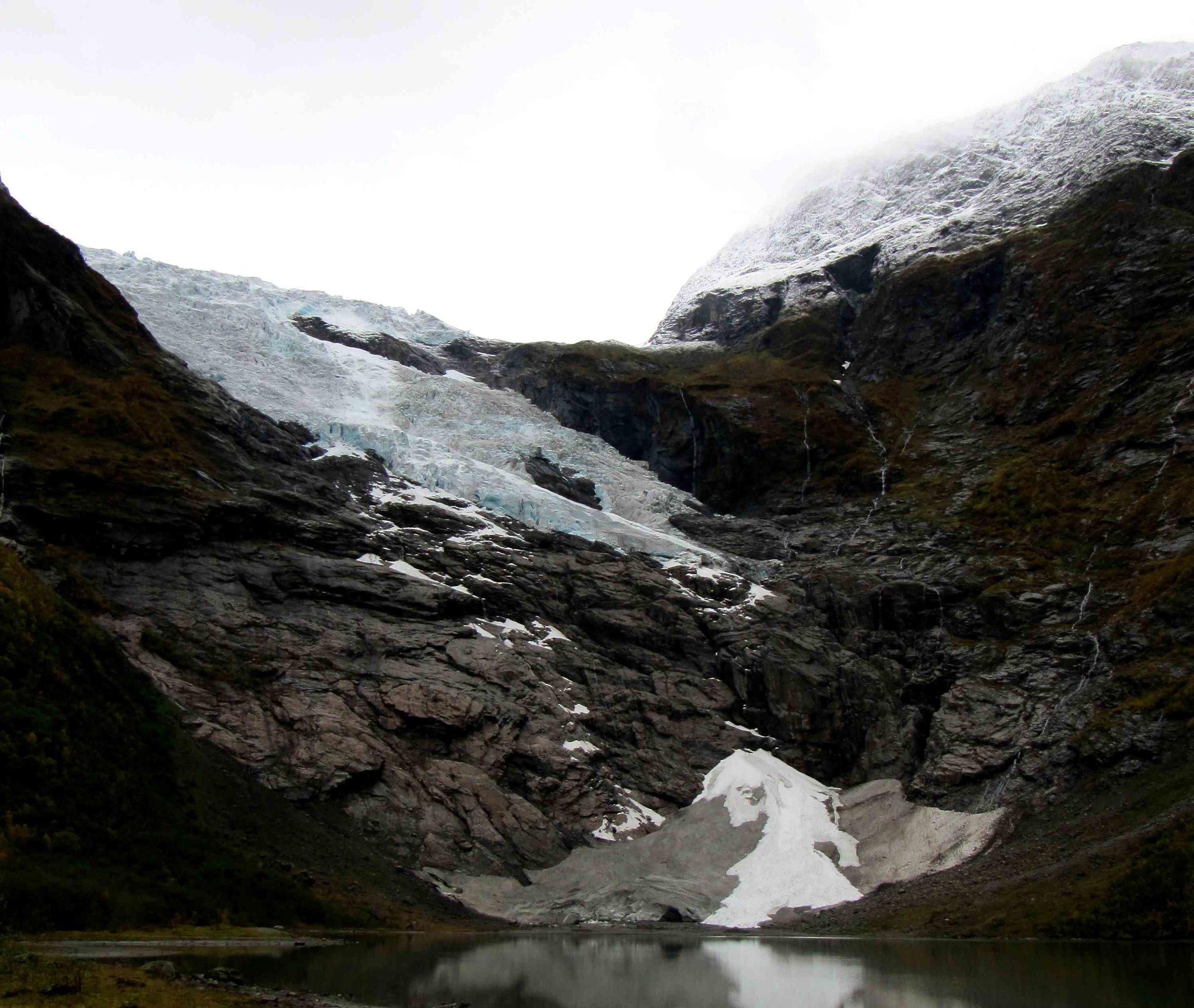 Bøyabreen Glacier 2012