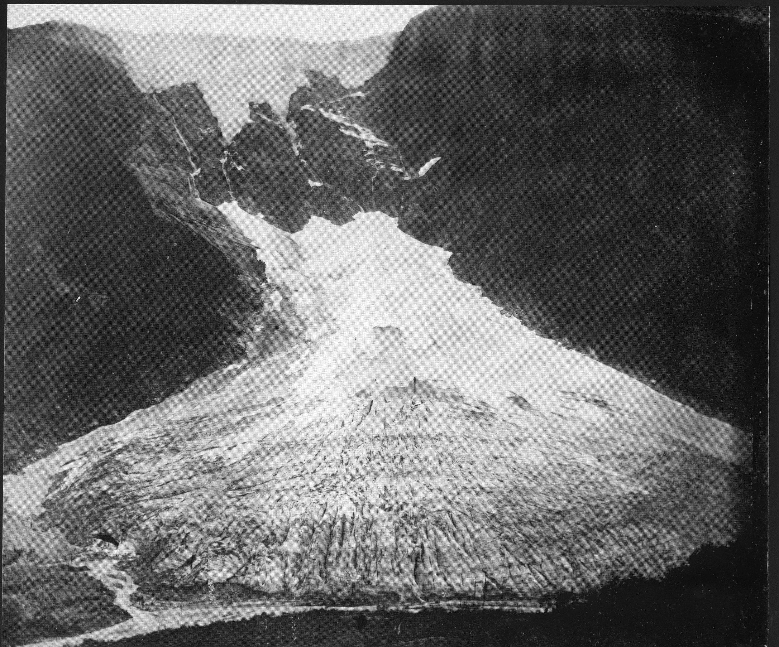 Supphellebreen Glacier 1867