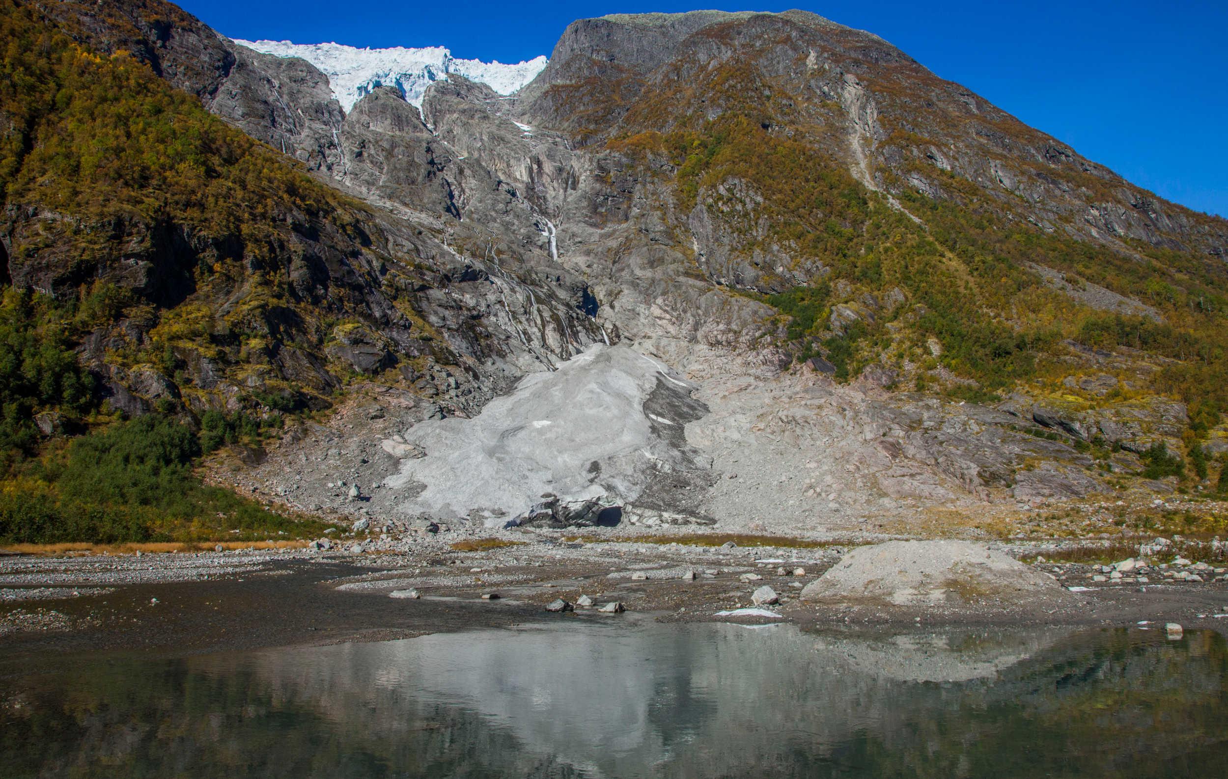 Supphellebreen Glacier 2013