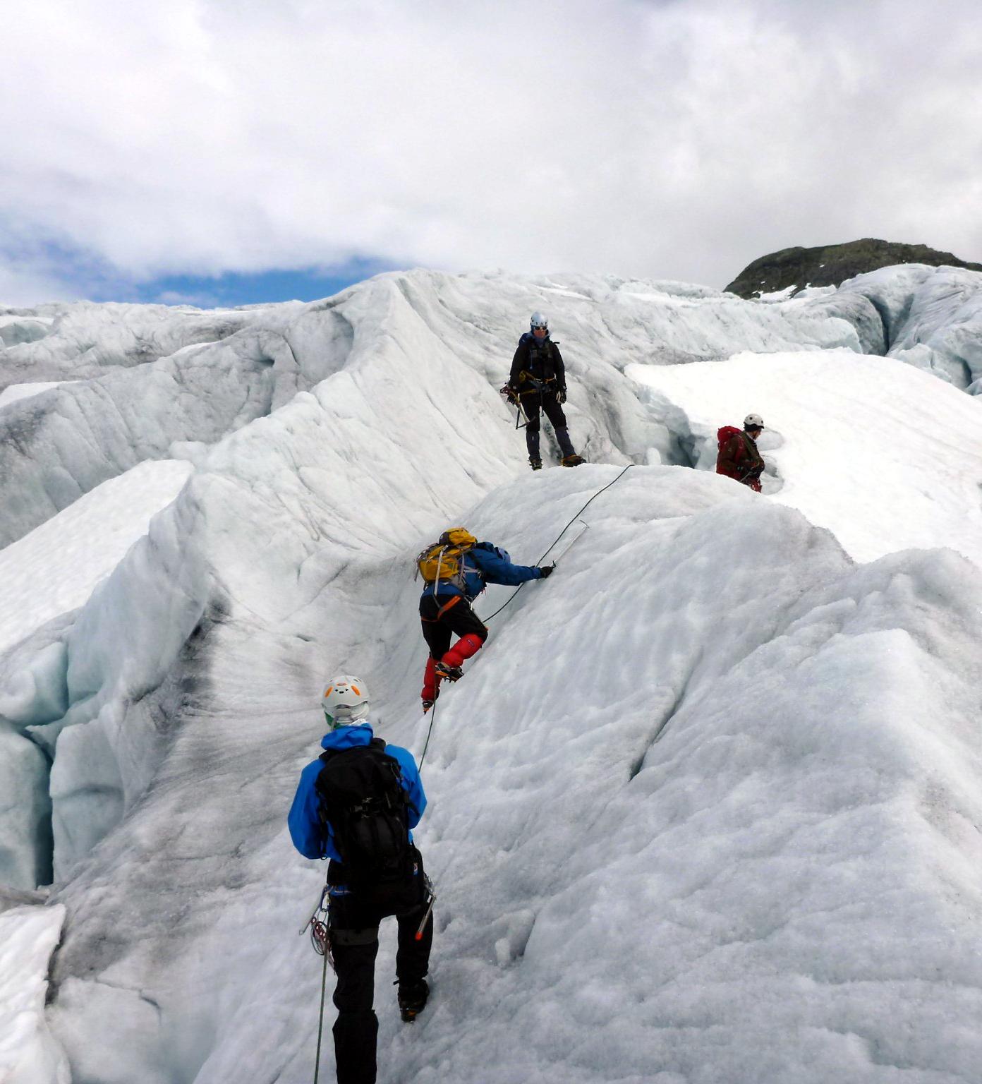 Gletscherwanderungen auf dem Jostedalsbreen