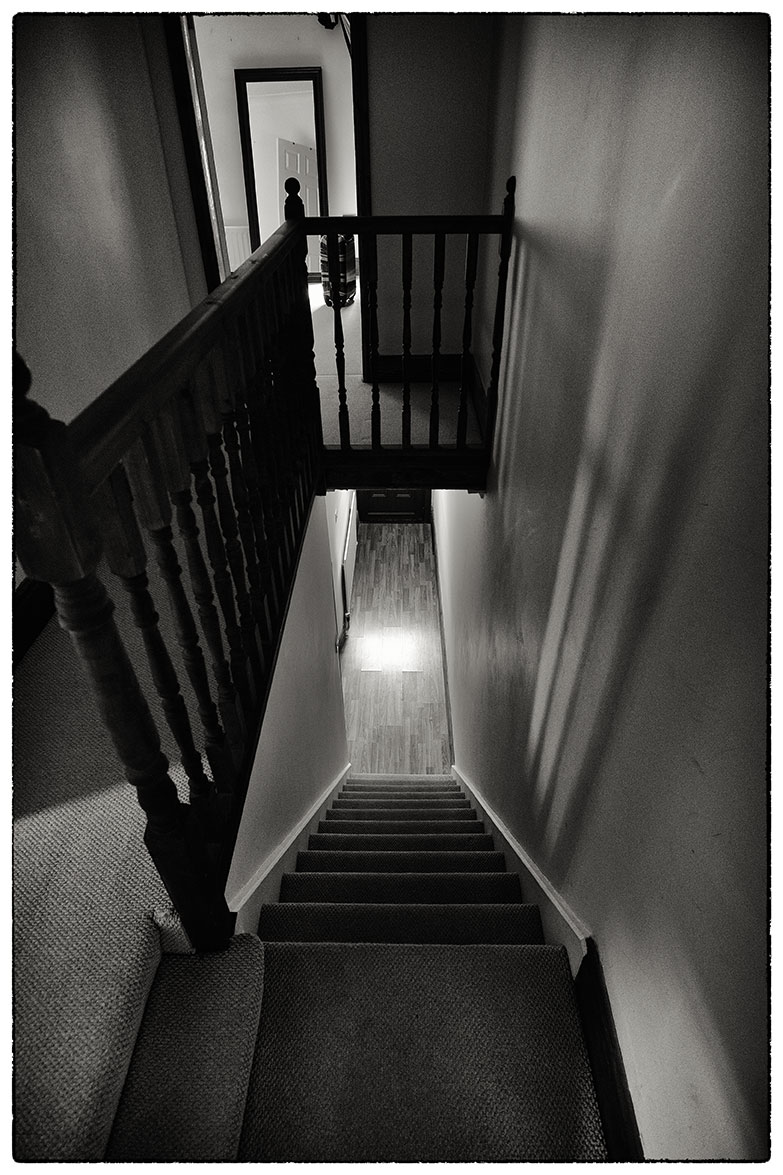 Staircase, Alice's new house.