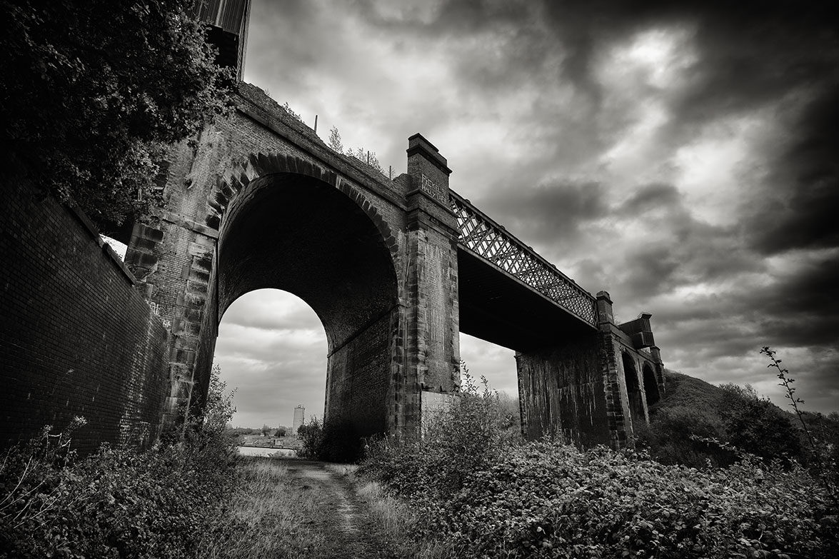 The start of a new project about the varied landscapes of Manchester.