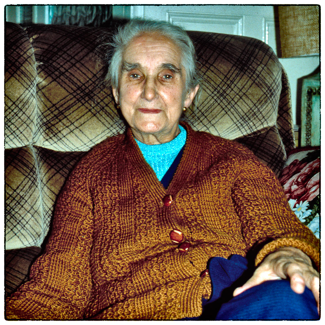 My gran, Leah Thompson. Must have taken this over 30 years ago.
