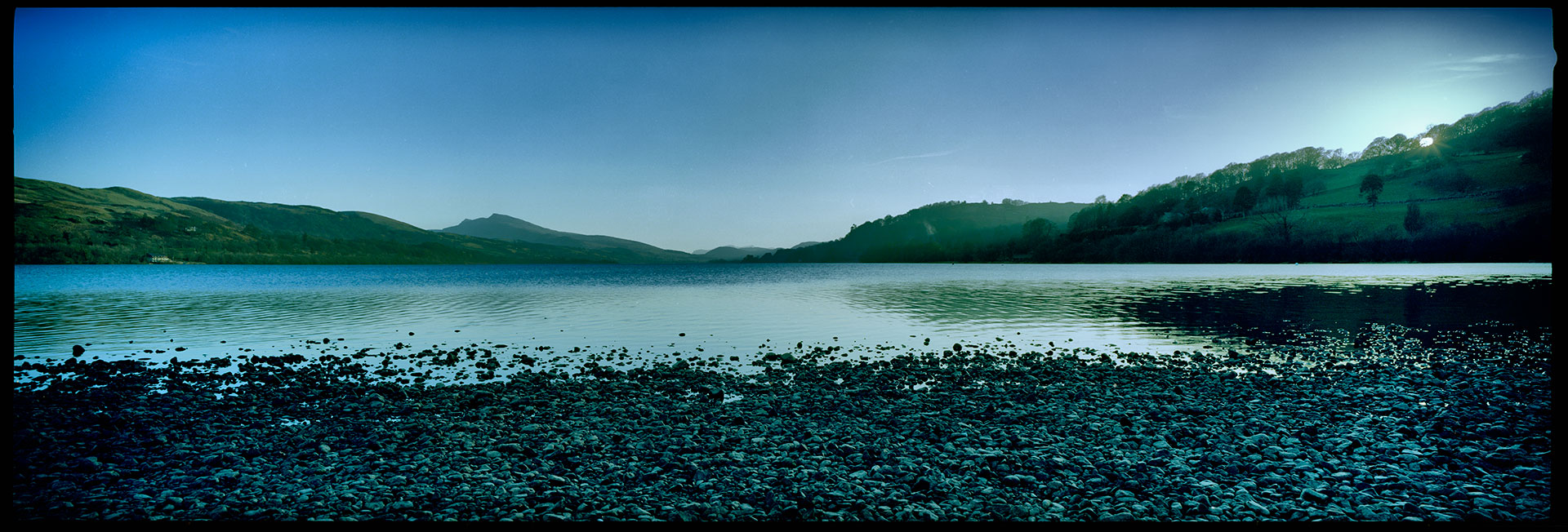 Sunset at Bala Lake, still exploring with images from the 617.