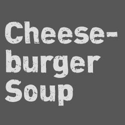 Mr. Campbells Cheeseburger Soup