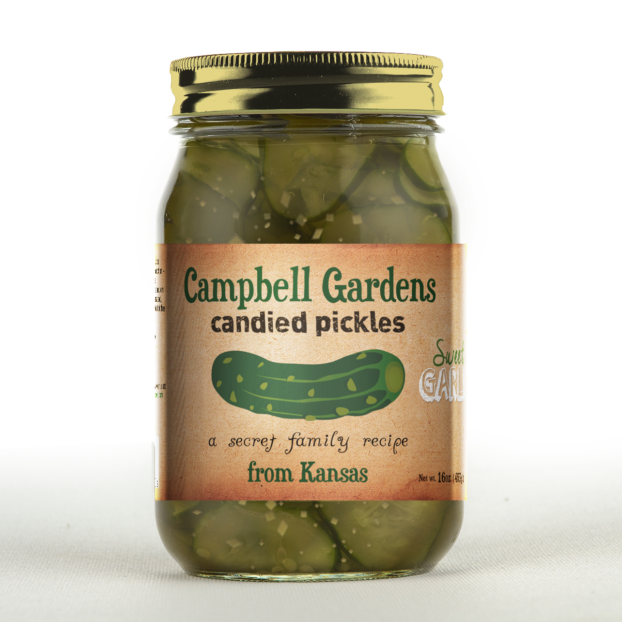 A pickle that is unlike any other!  Crunchy, Garlicky, Sweet and Spicy all in one delicious bite! We hope you will give them a try!    Store Locations