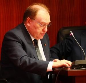 D. ÁNGEL JUÁREZ ABEJARO, Abogado. Presidente de APROED