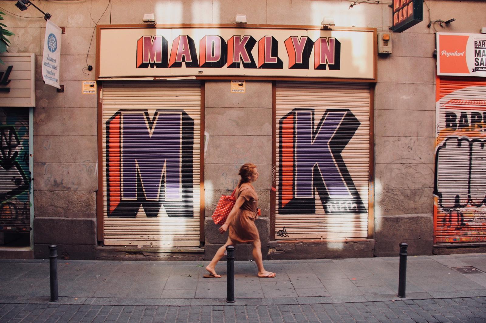 Un dia a Malasaña, Madrid
