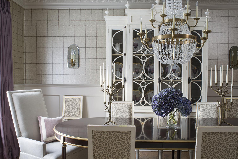 Dining Room by Wendy Labrum Interiors, LLC.