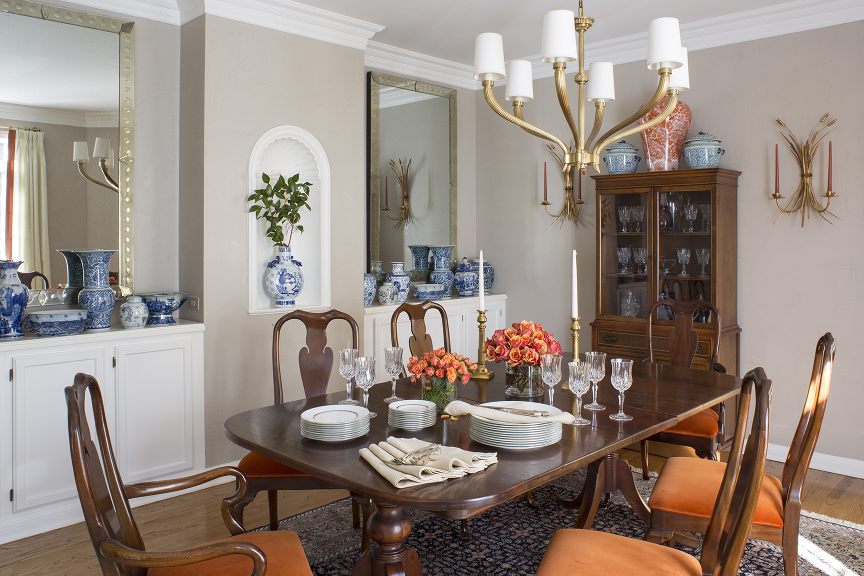 Dining Room by Wendy Labrum Interiors, LLC.