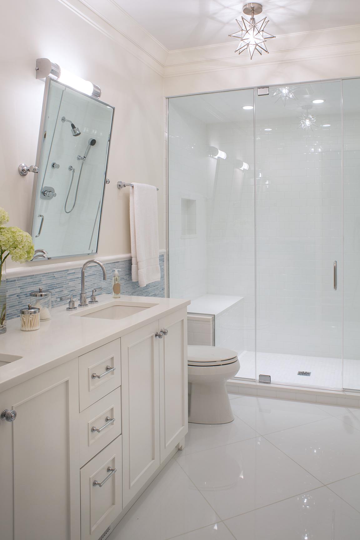 Bathroom by Wendy Labrum Interiors, LLC.