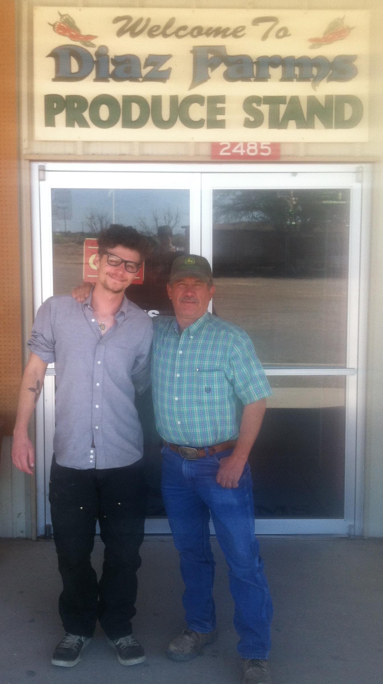 Los Roast's Marshall Berg and Eddie Diaz of Diaz Farms