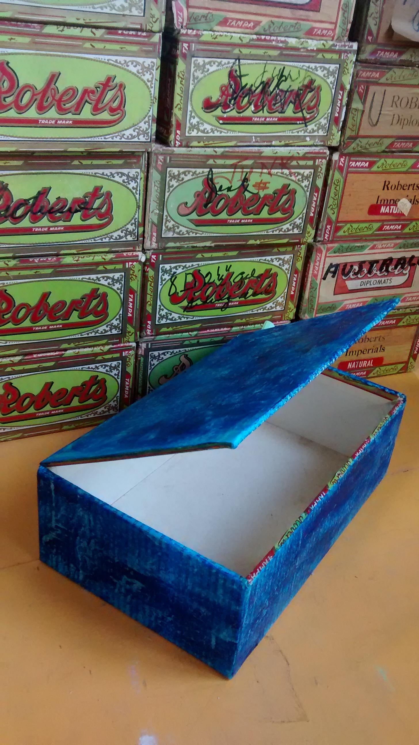 Teen Night: Cigar Boxes