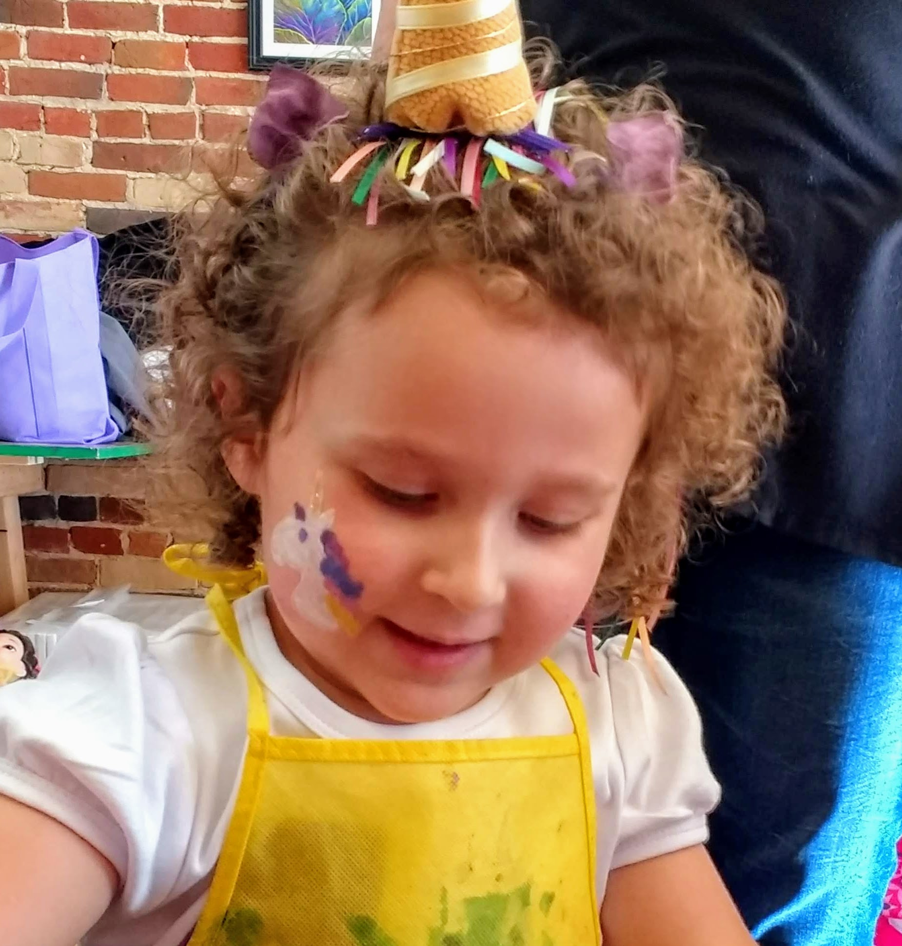 Face painting: $10 -