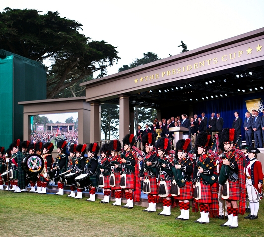 Photo courtesy of Ashley Summer   President's Cup, Harding Park, San Francisco, 2009