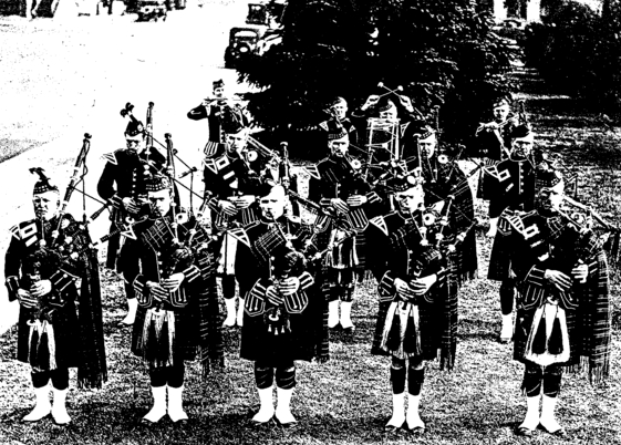 Photo courtesy of Ozzie Reid   Awful Fresh MacFarlane Candy and Nuts Pipe Band