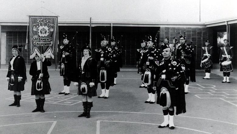 Photo courtesy of Chuck Jameson (Archivist of the Sacramento Caledonian Club and St. Andrews Society)