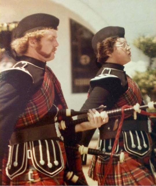 Armijo Pipers Bill McCrary (L) and Tom Mopas (R)