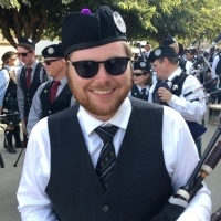 Adam Blaine  Pipe Major